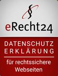eRecht24 - Datenschutzerklaerung